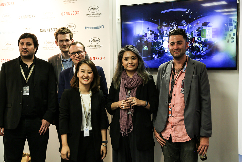 高雄市VR電影製作新里程碑,首登坎城影展向國際交流VR內容製作