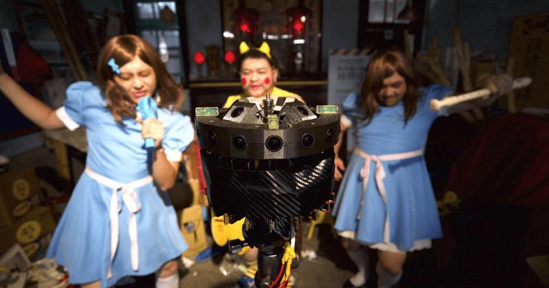 台灣VR360喜劇瑞士發威<br />徐漢強〈全能元神宮改造王〉 獲世界VR論壇影展大獎