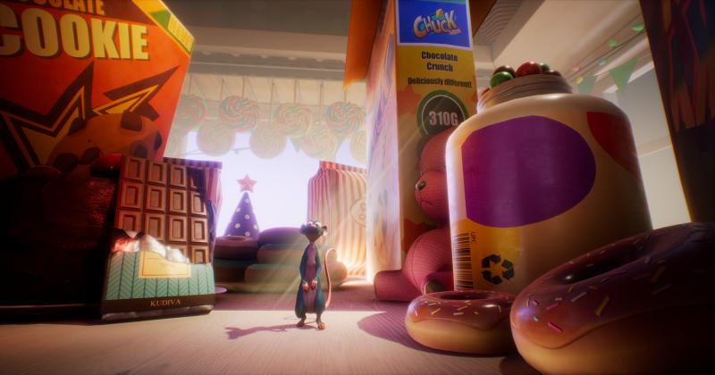威尼斯影展最佳VR體驗獎作品〈鼠麻吉〉,4月10日高雄VR體感劇院獨家上映